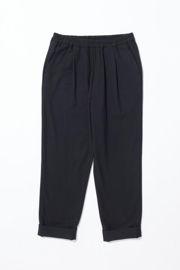 CROPPED TURN-UP HEM TROUSER