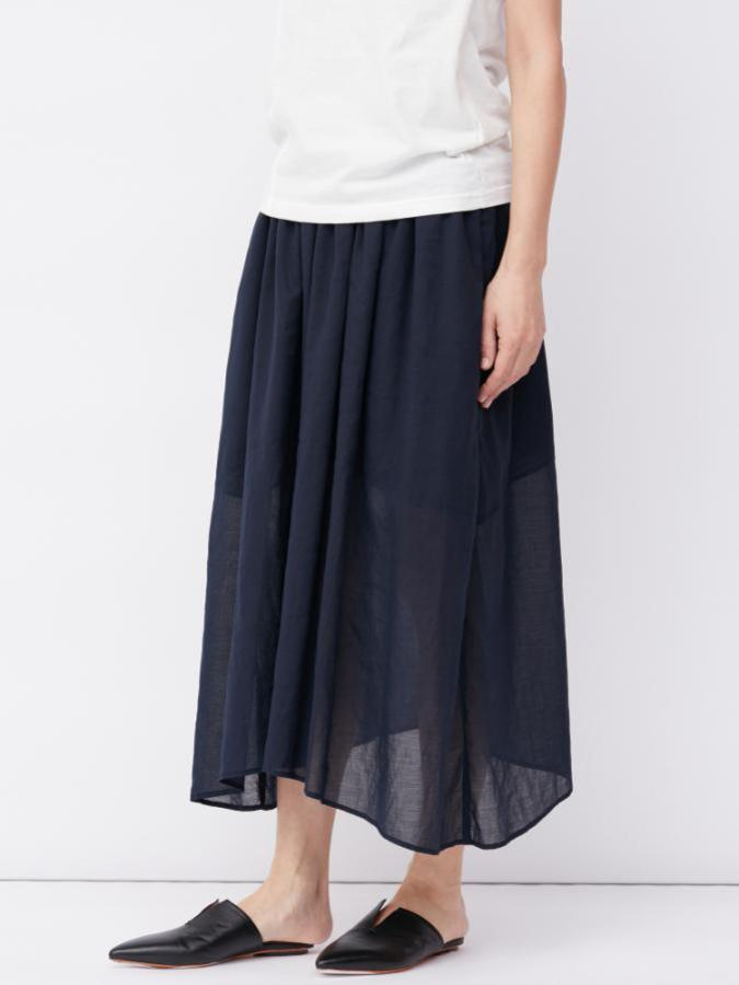 COTTON GEORGETTE SKIRT