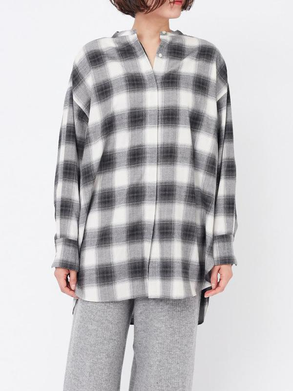 LONG SLEEVE SHIRT IN MONO CHECK