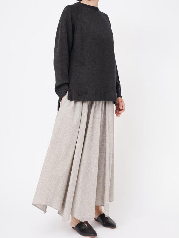SHEETING WASHER LONG SKIRT