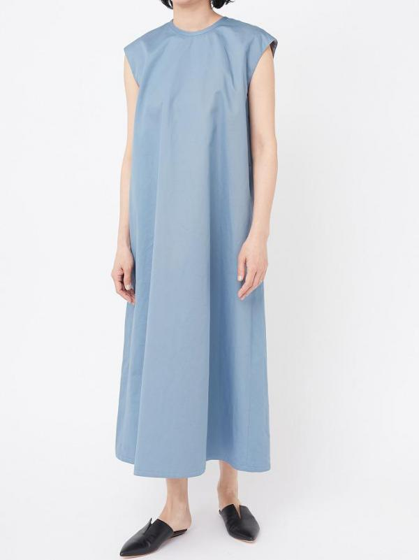 CHINO CLOTH LONG DRESS
