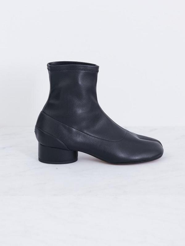 Tabi Faux leather socks boots