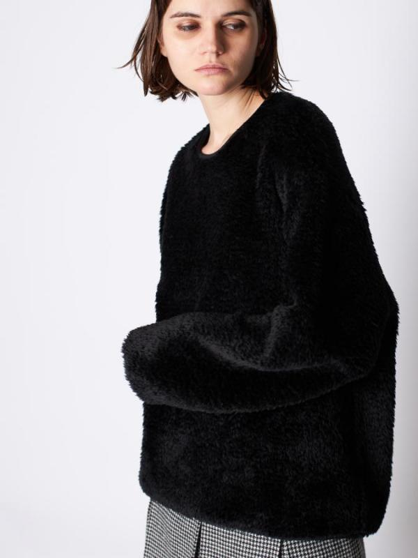 Poodle Long Sleeve Pullover