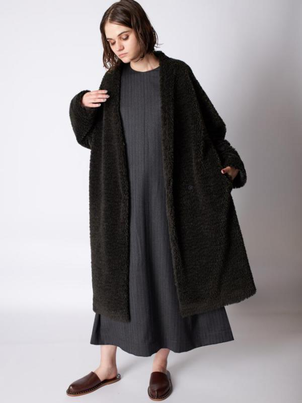 EcoFur Long Coat