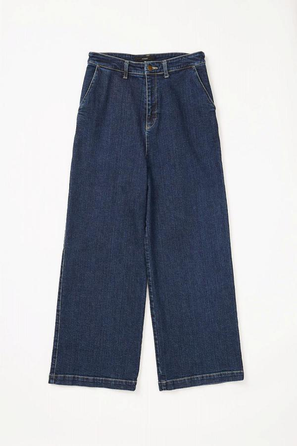 13oz Strech Wide Leg Denim Pants