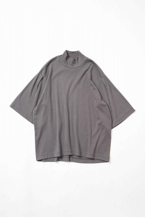 Cotton Mockneck Top