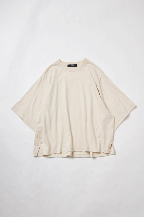 Cotton Half-Sleeve Top