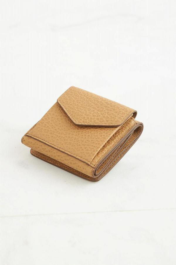 Accordion Fold Leather Wallet