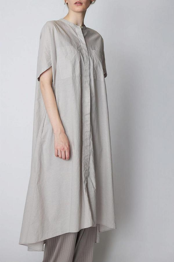 Washer Long Shirt Dress