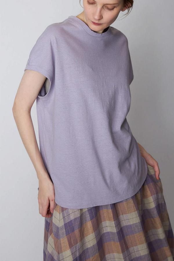 Cotton Linen Crewneck Tee