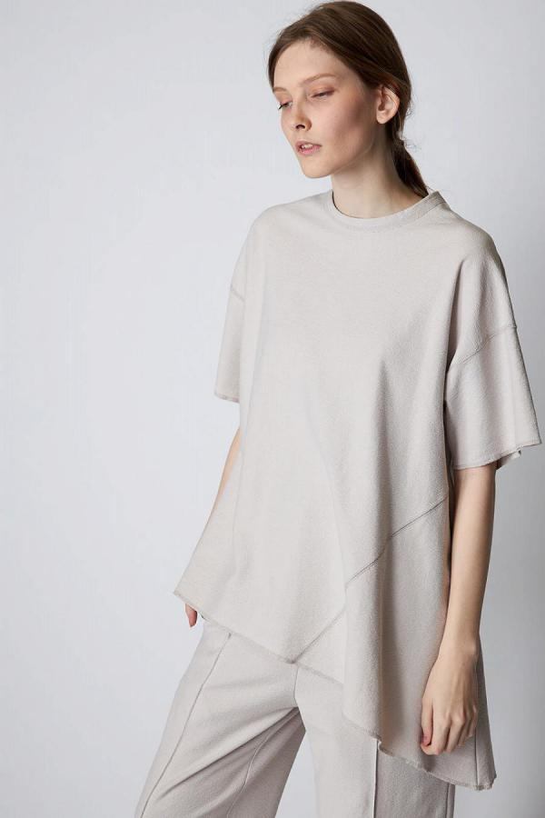 Asymmetry T-shirt