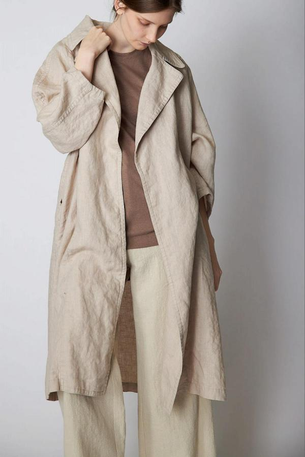 Linen Washer Coat