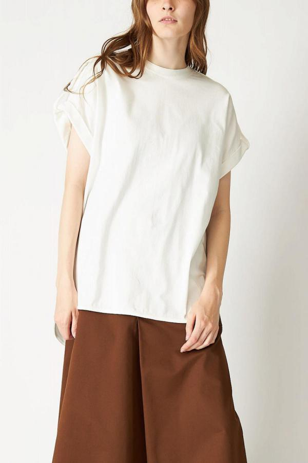 Roll-up Sleeve Top