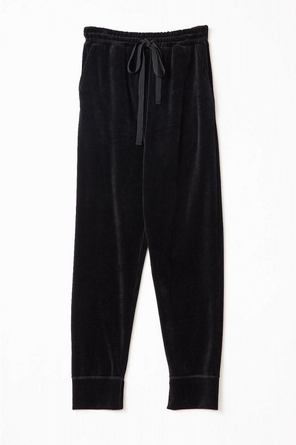 Cotton Velour Pants