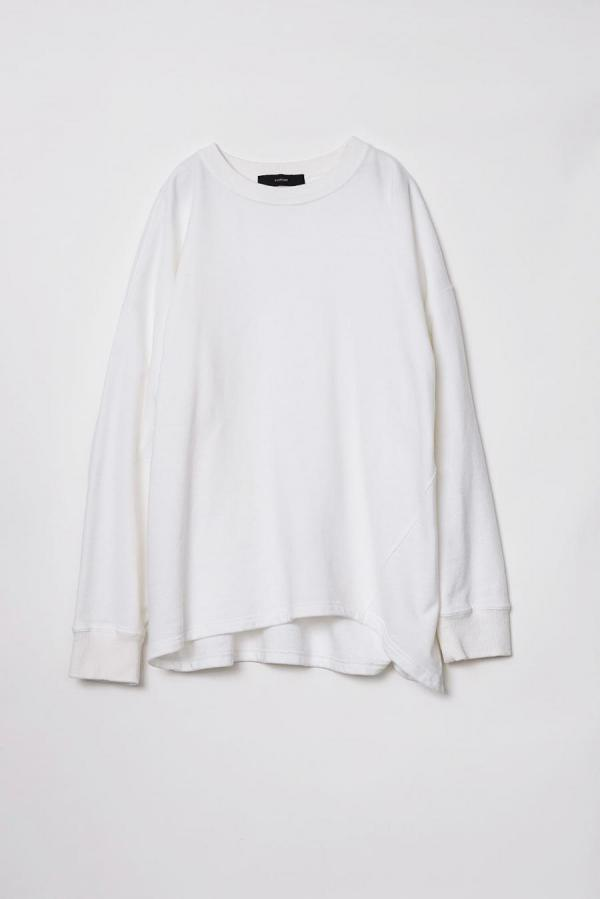 Cotton Oversize Sweat Pullover