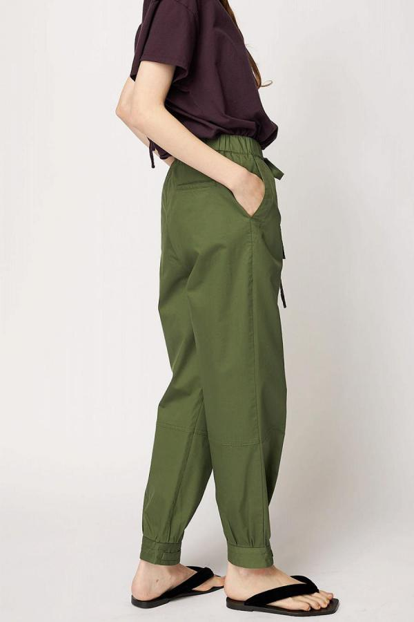 Ankle Detail Pants