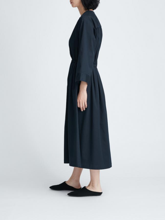 WEST GATHER MIDI DRESS