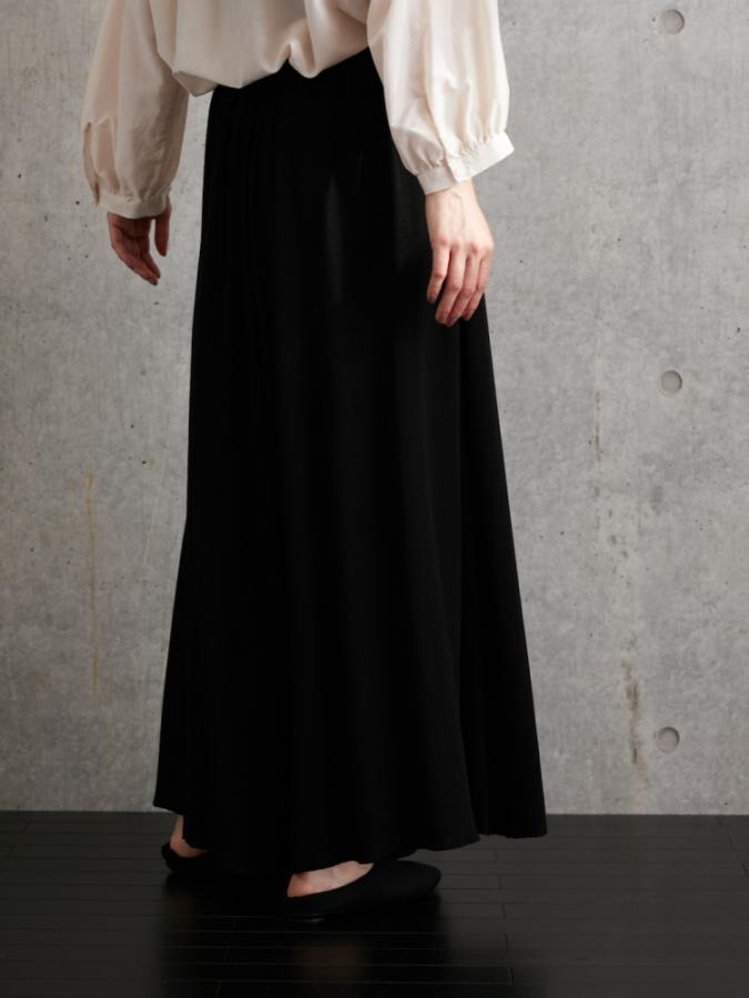 STRETCH WIDE PANTS