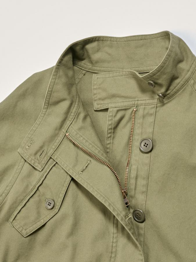 FRENCH WORKER SERGE MILITARY COAT