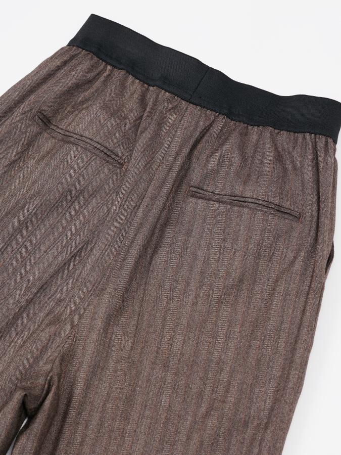 Herring Bone Wide Pants