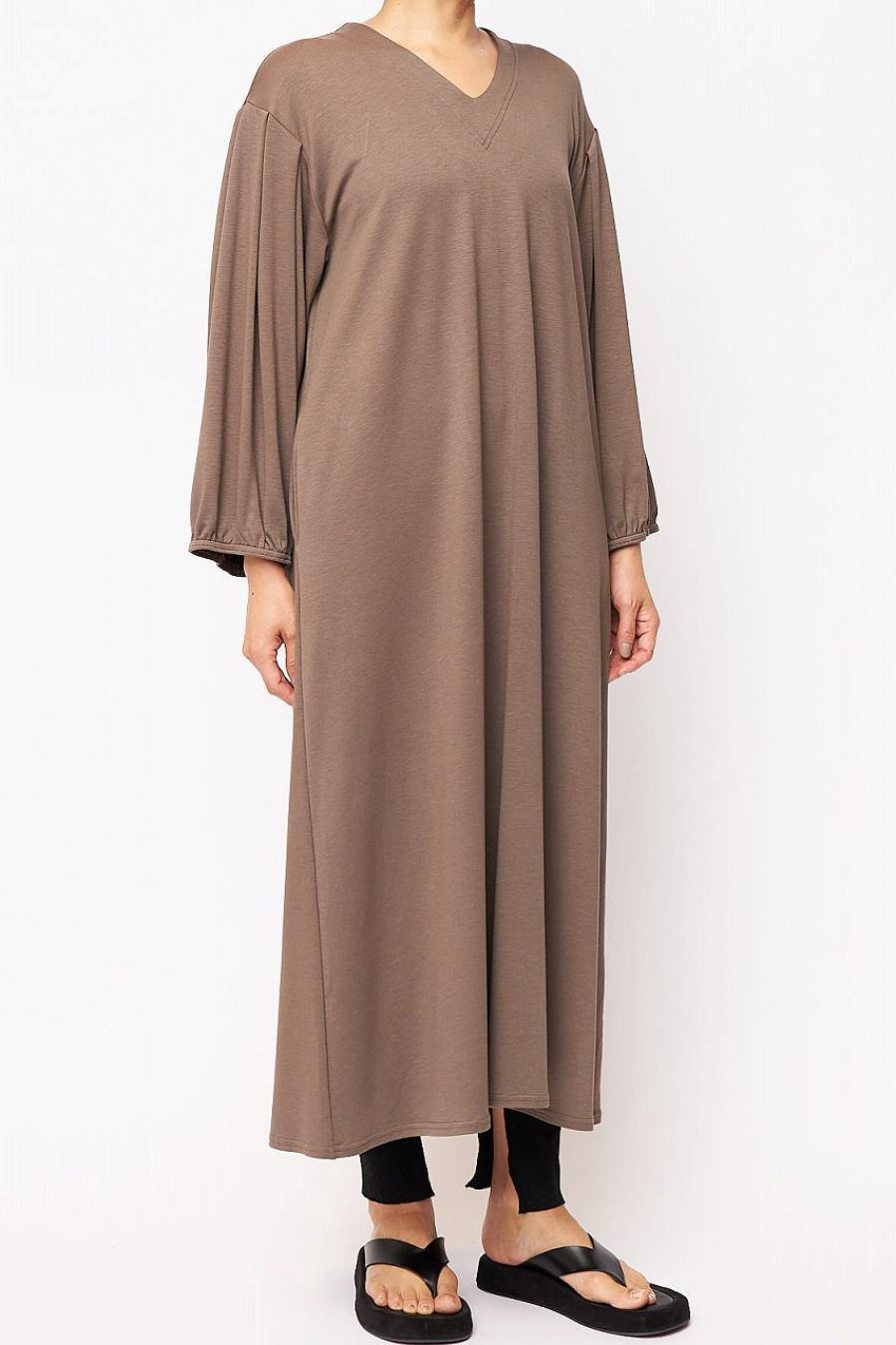 Vneck long dress