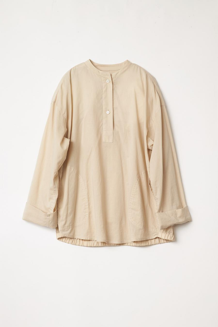 Organic Cotton Pullover Blouse