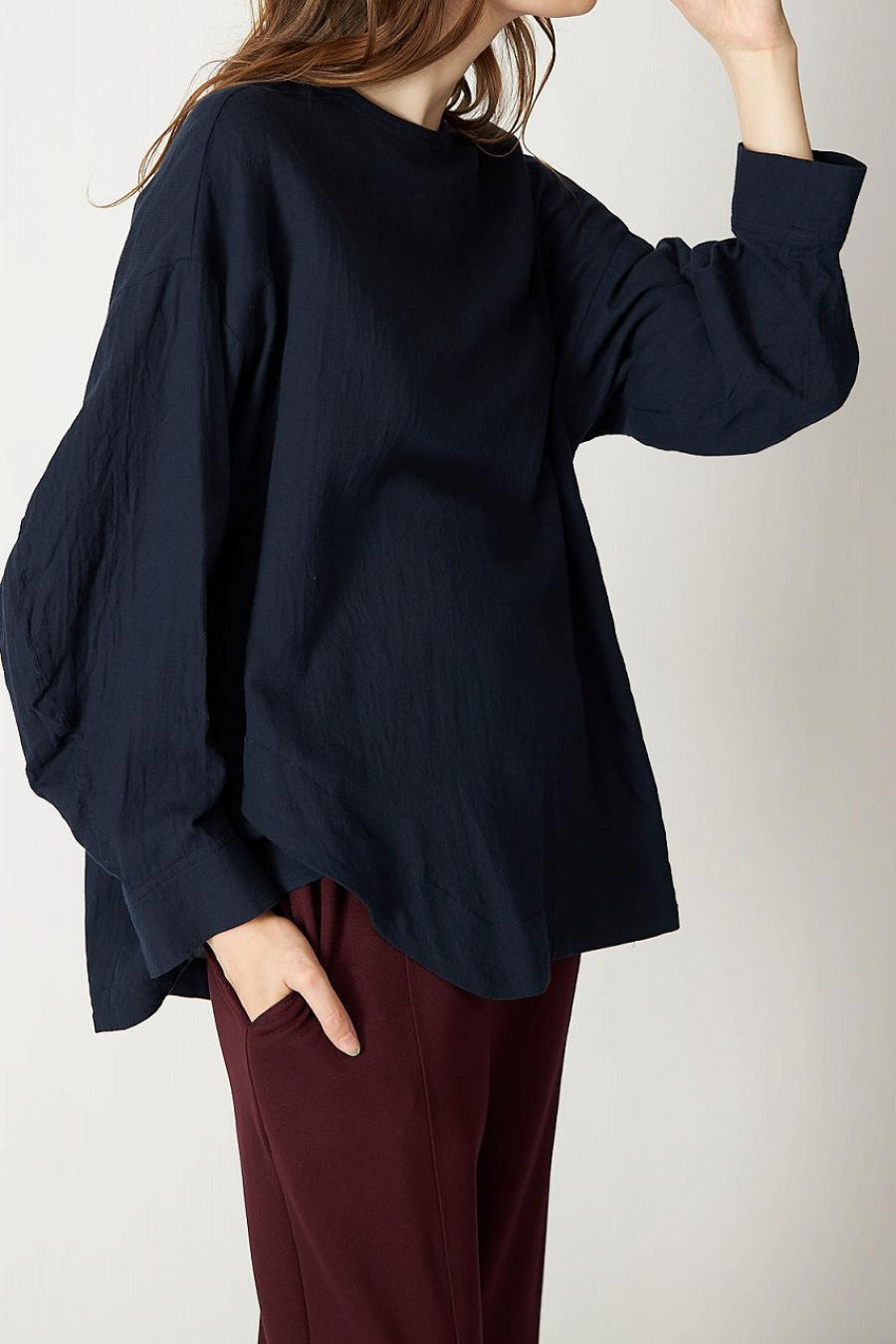 Cotton Wool Viella Pull Over Blouse