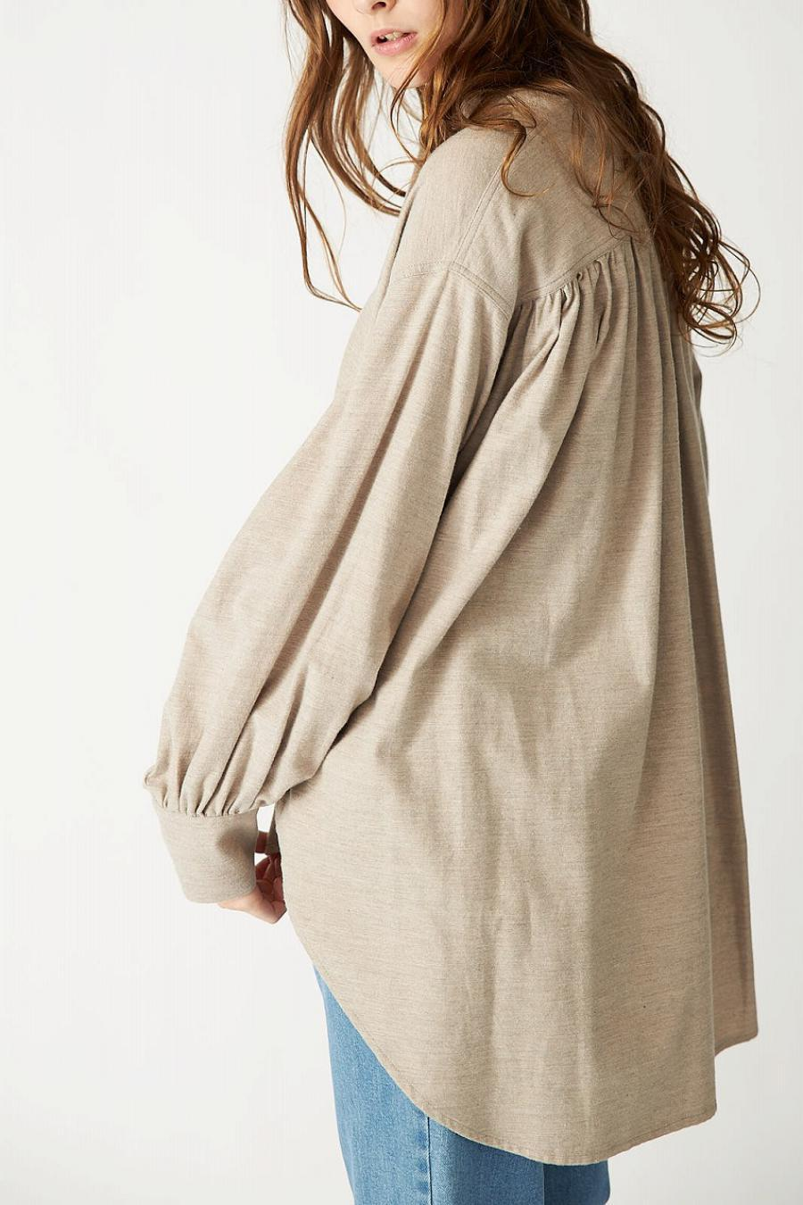 Cotton Viella Pullover Blouse