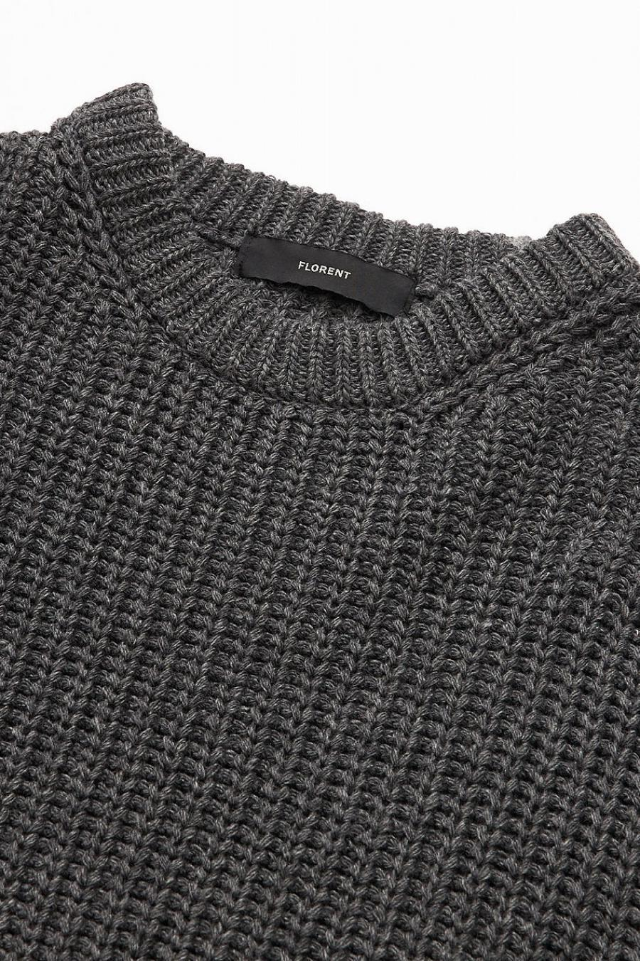 Hot Ray Crew Neck Knit