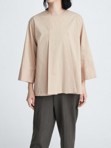 OVERSIZED FIT PLEAT BLOUSE