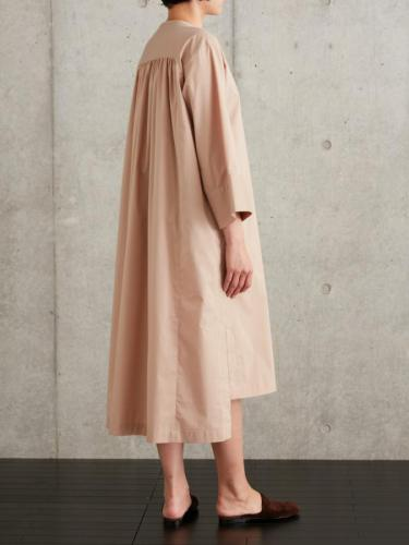 OVERSIZED FIT SMOCK DRESS