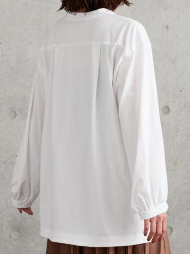 VOLUME SLEEVE PULLOVER