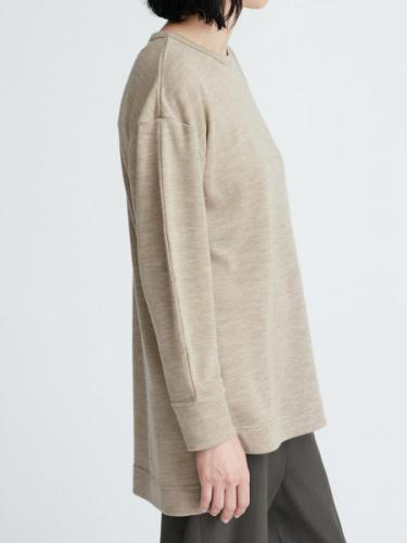 PUFF  SLEEVES  CREW TOP