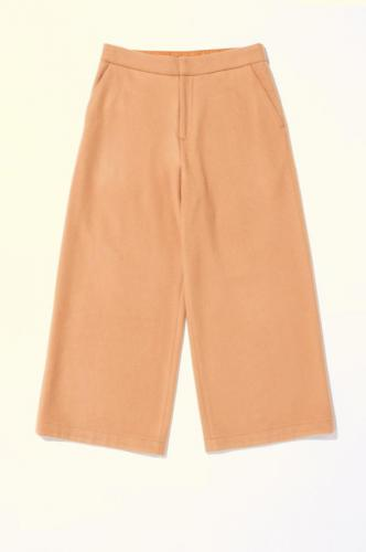 MELTON CROPPED TROUSERS