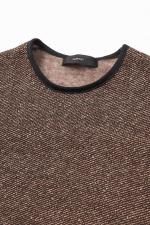 Herringbone Fleece Pullover